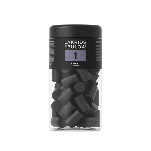 Regular No.1 Sweet, 360g, Lakrids by Bülow