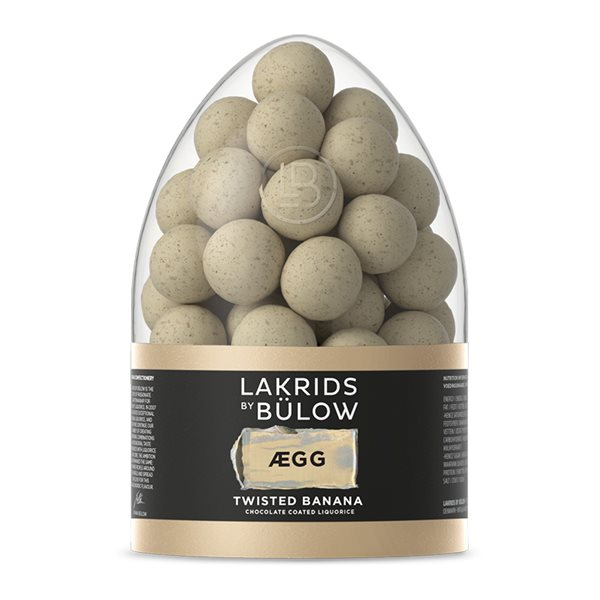 Easter Egg, Twisted Banana, 485g, Lakrids by Bülow