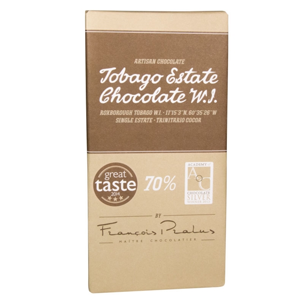 Tobago Estate Chocolate W.I. 70%, 100g
