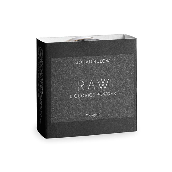 Raw Liquorice Powder, 25g, Lakrids by Johan Bülow